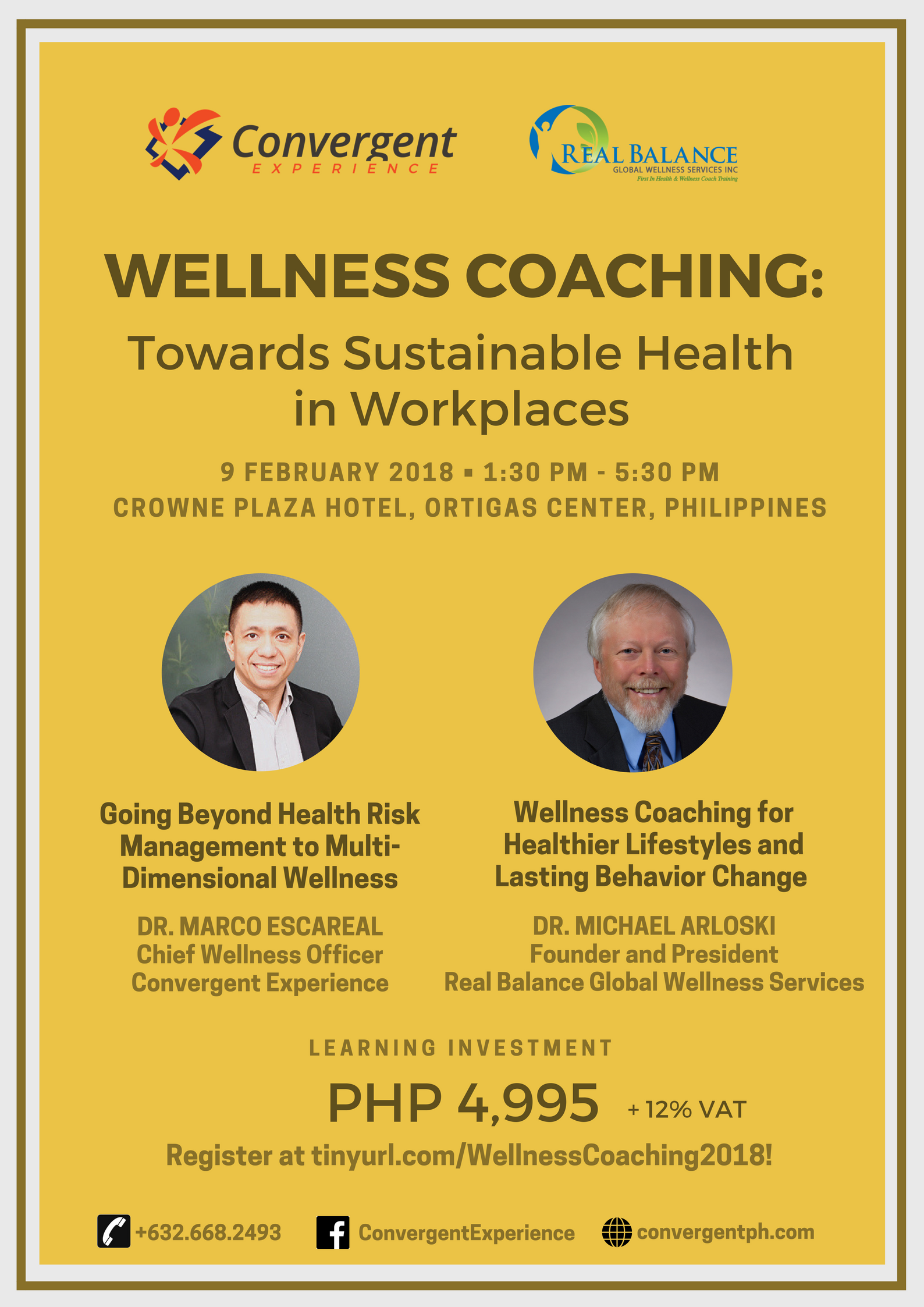 Wellness Coaching Towards Sustainable Health In Workplaces